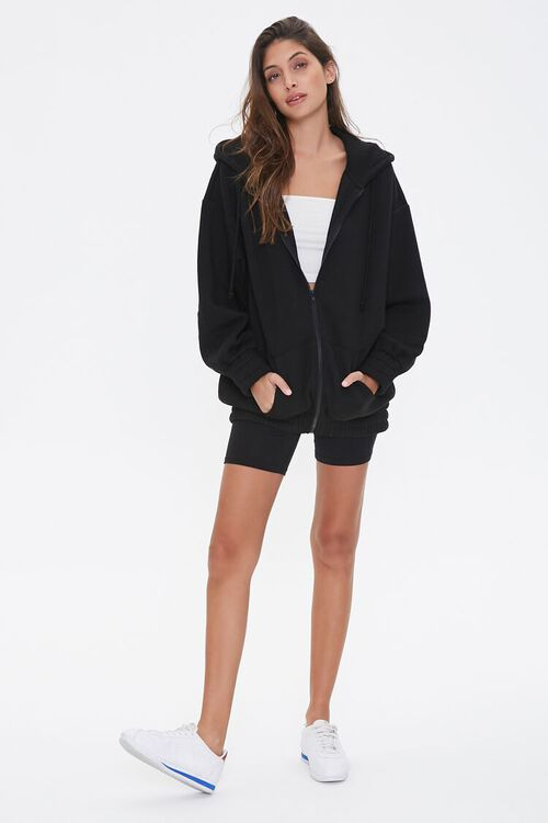 Fleece Zip-Up Hoodie, image 4