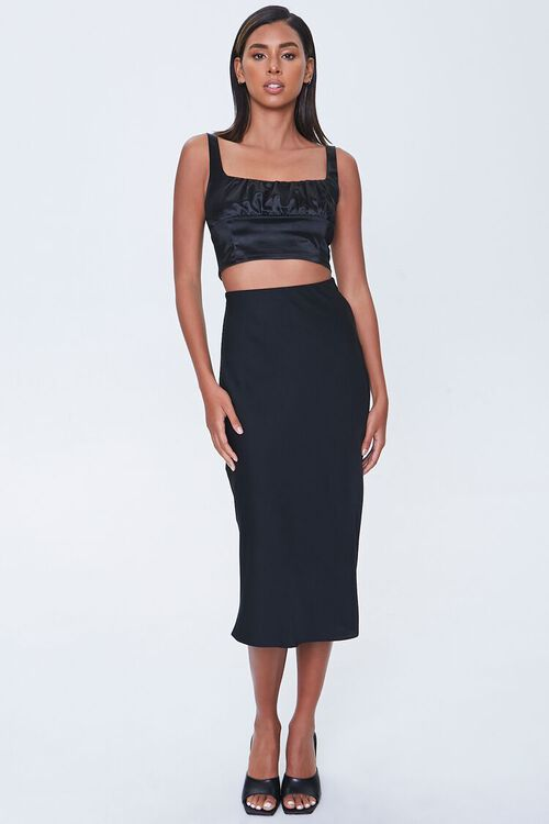 Ruched Crop Top, image 4