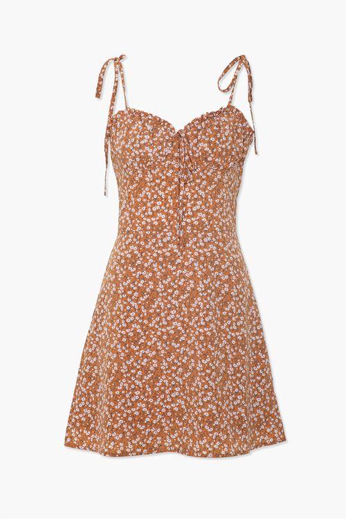Ruffled Floral Cami Dress, image 1