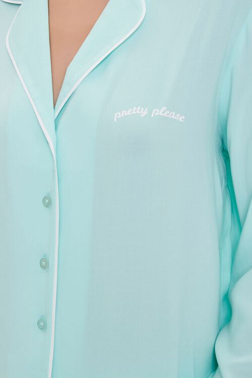 Pretty Please Pajama Shirt & Shorts Set, image 4