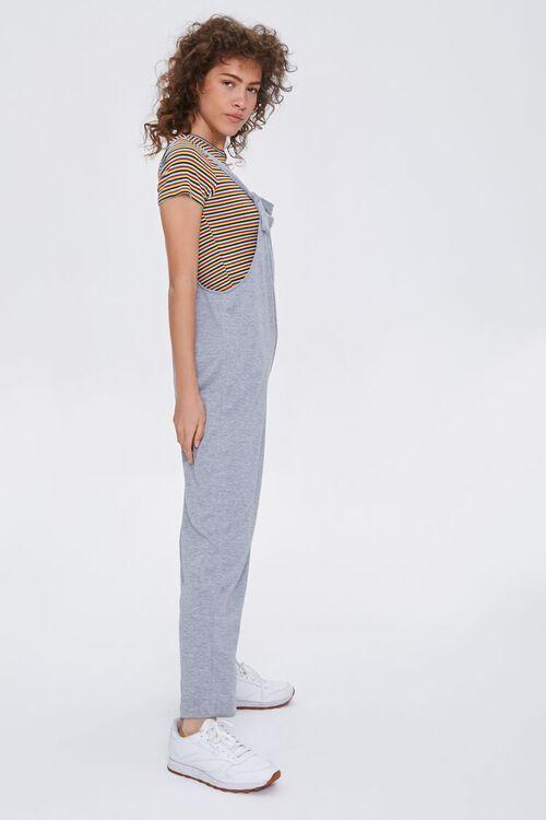 Straight-Leg Knit Jumpsuit, image 2