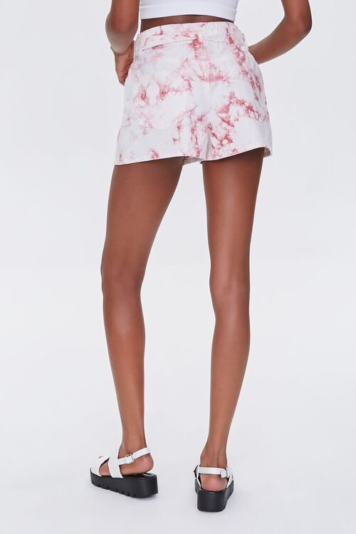 Belted Tie-Dye Shorts, image 4