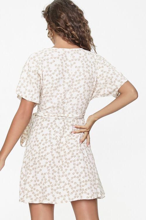 Floral Print Wrap Dress, image 3
