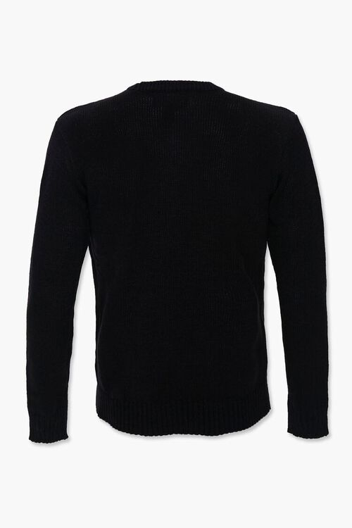 Lets Get Lit Graphic Knit Sweater, image 3