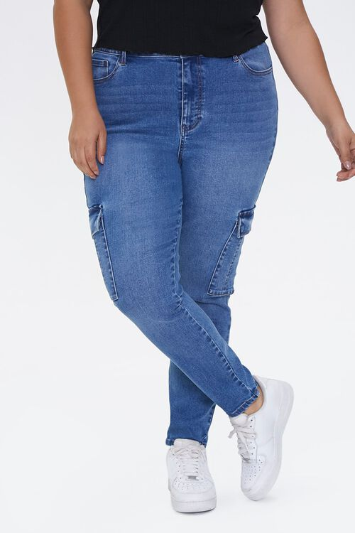 Plus Size Recycled Skinny Jeans, image 2