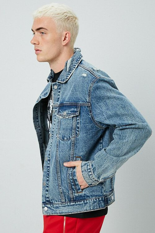 Distressed Denim Jacket, image 2