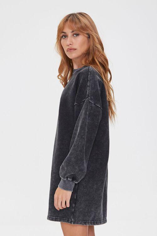 Fleece Sweatshirt Dress, image 2