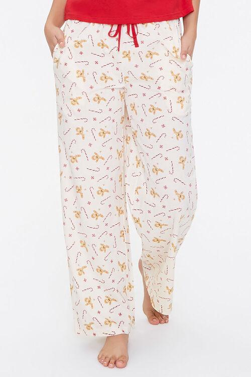 Gingerbread Tee & Pants Pajama Set, image 5