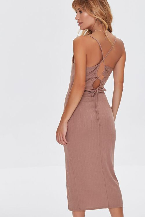 Lace-Back Bodycon Dress, image 3