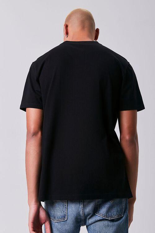 BLACK/WHITE Skeleton Graphic Short-Sleeve Tee, image 3