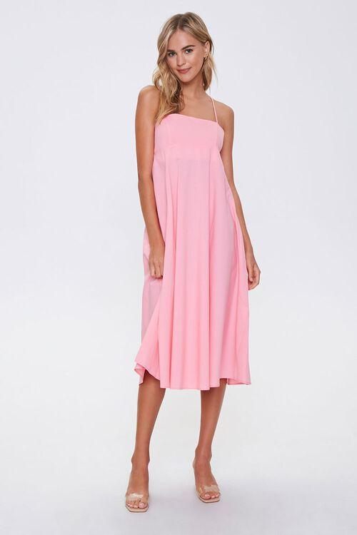 PINK Strappy-Back Cami Dress, image 4