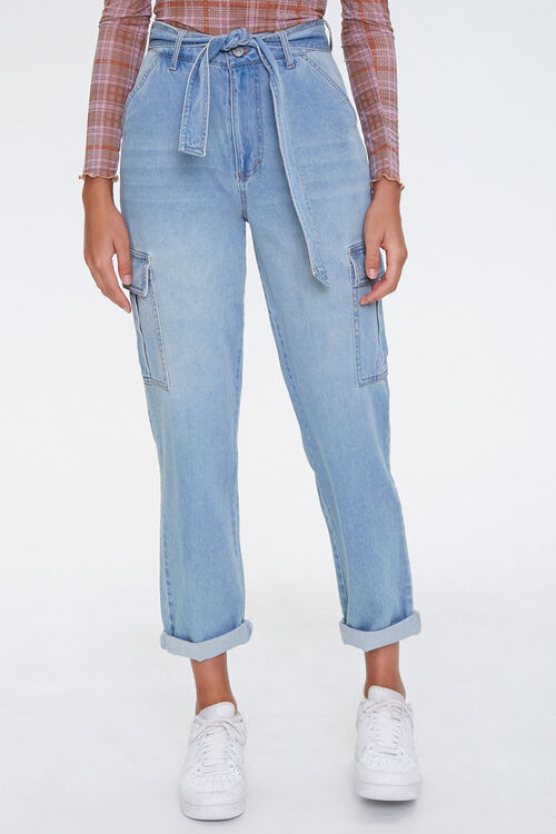 Paperbag Cargo Jeans, image 2
