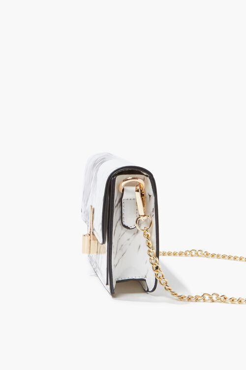 Marbled Flap-Top Crossbody Bag, image 2