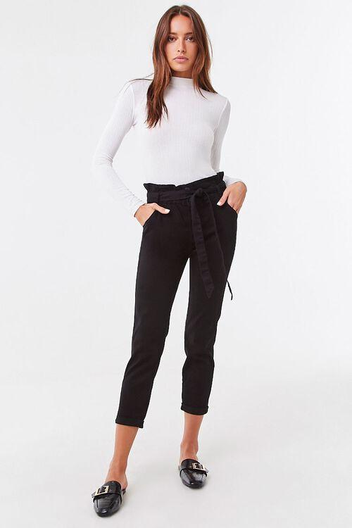 Belted Paperbag Pants, image 5