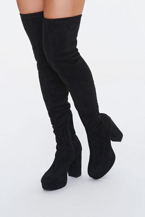 Thigh-High Platform Boots, image 1