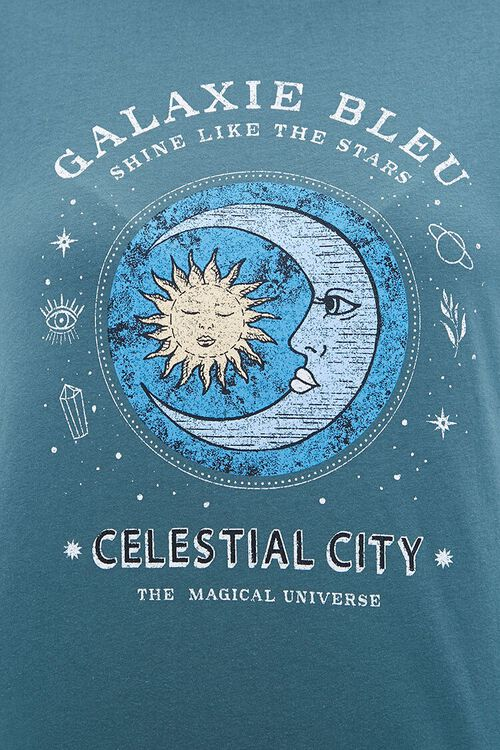 Plus Size Celestial Graphic Pullover, image 6