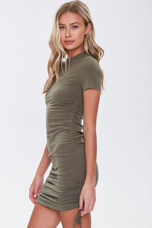 Ruched Bodycon Mini Dress, image 2