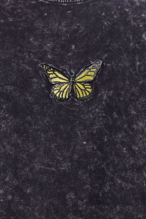 Butterfly Embroidered Graphic Tee, image 5
