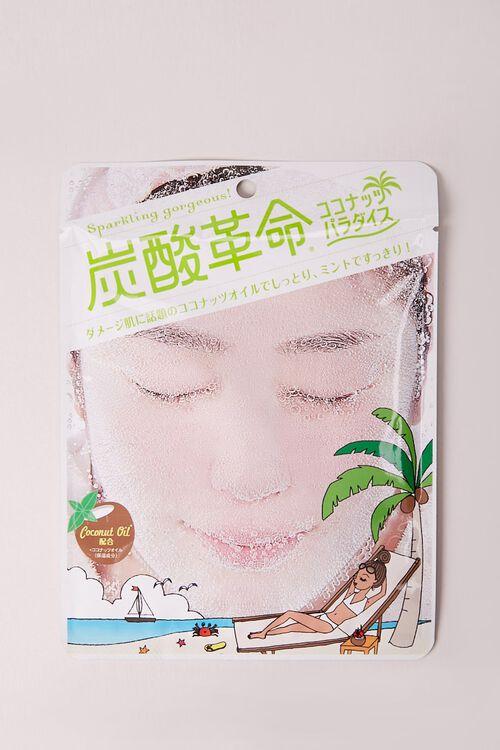 Tansan Kakumei Carbonated Mask – Coconut Paradise, image 1