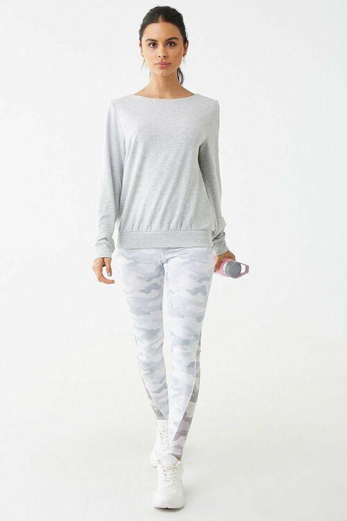 Active Crisscross Back Sweatshirt, image 4