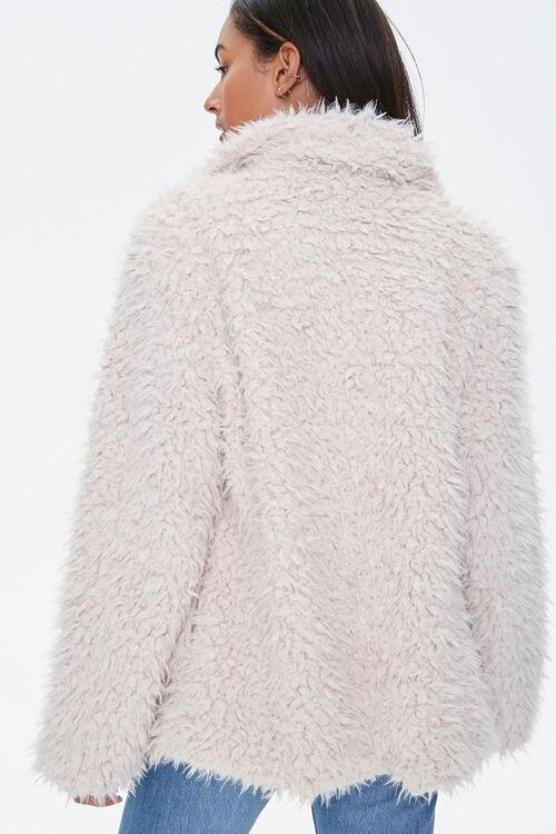 Shaggy Faux Fur Coat, image 3