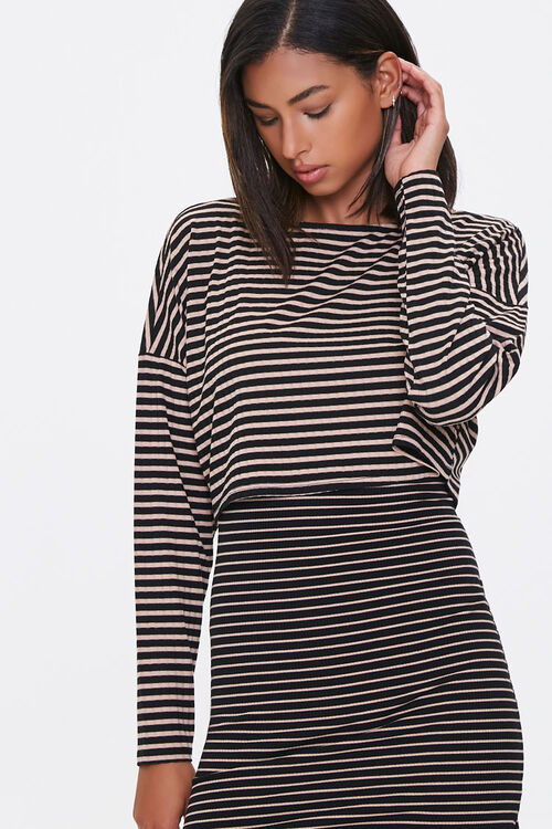 Striped Top & Skirt Set, image 4