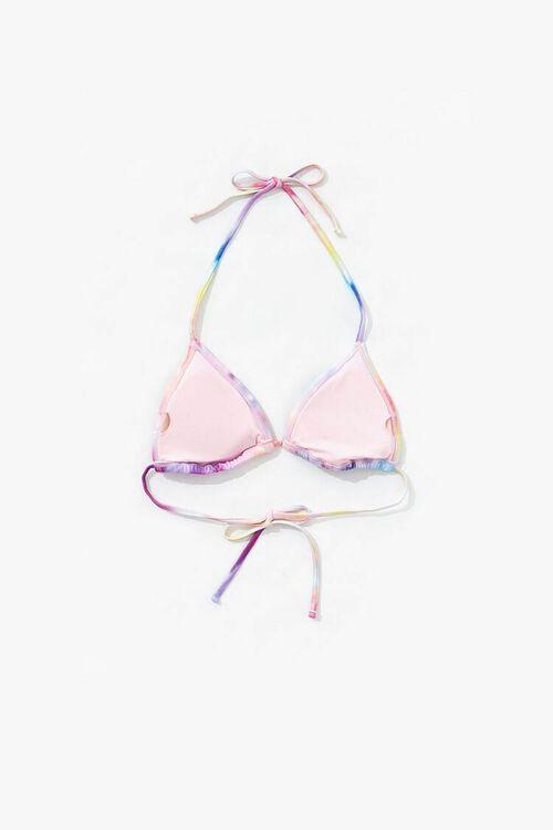 Tie-Dye String Bikini Top, image 2