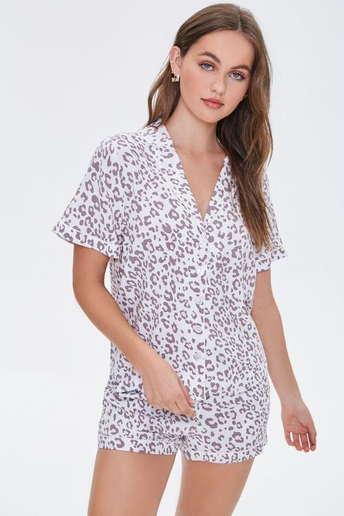 Leopard Print Sleep Set, image 1