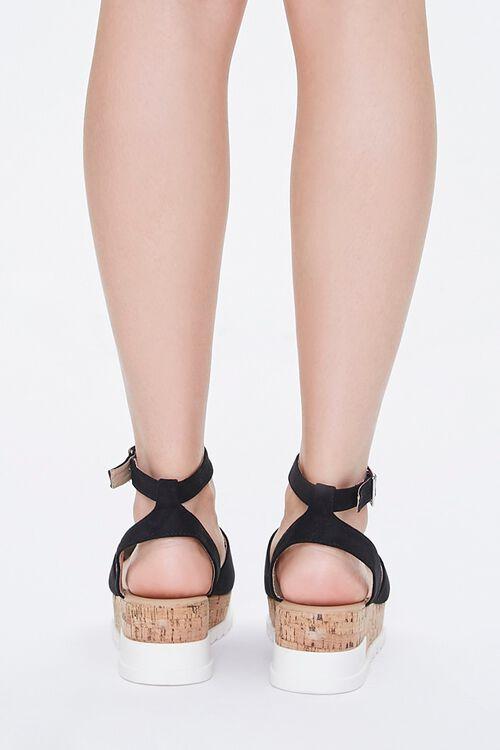 Open-Toe Cork Sandals, image 4