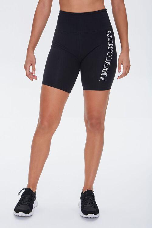 Active Reset Graphic Biker Shorts, image 2