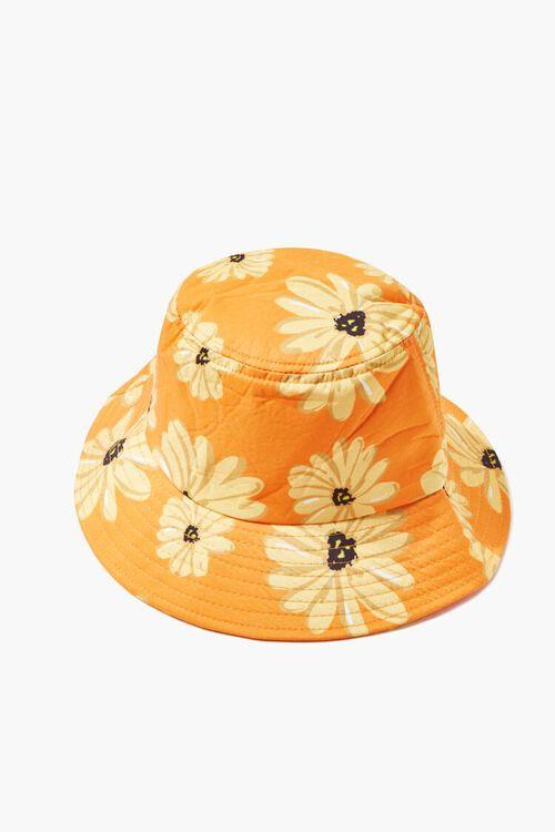 Daisy Print Bucket Hat, image 4