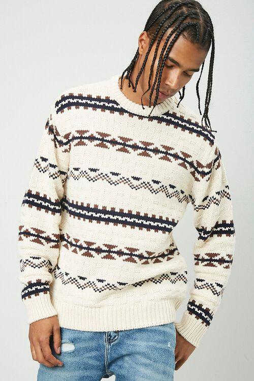Geo Print Sweater, image 1