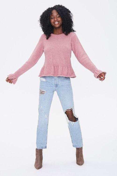 Rolled Ruffle-Trim Sweater, image 4