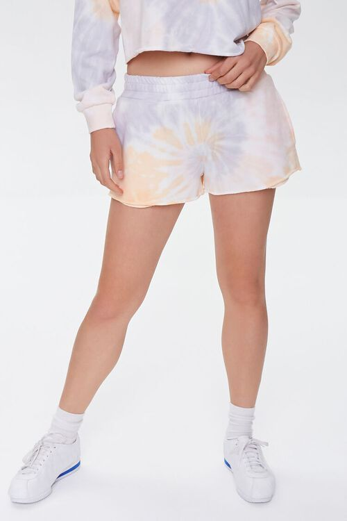 Tie-Dye French Terry Shorts, image 2