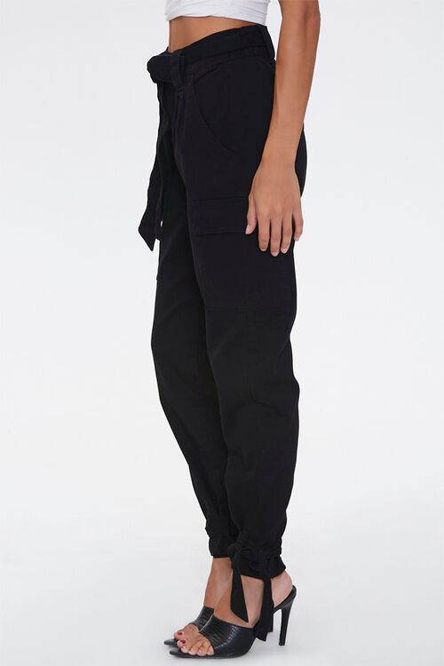Tie-Waist Cargo Pants, image 3