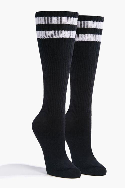 Striped Knee Socks, image 1