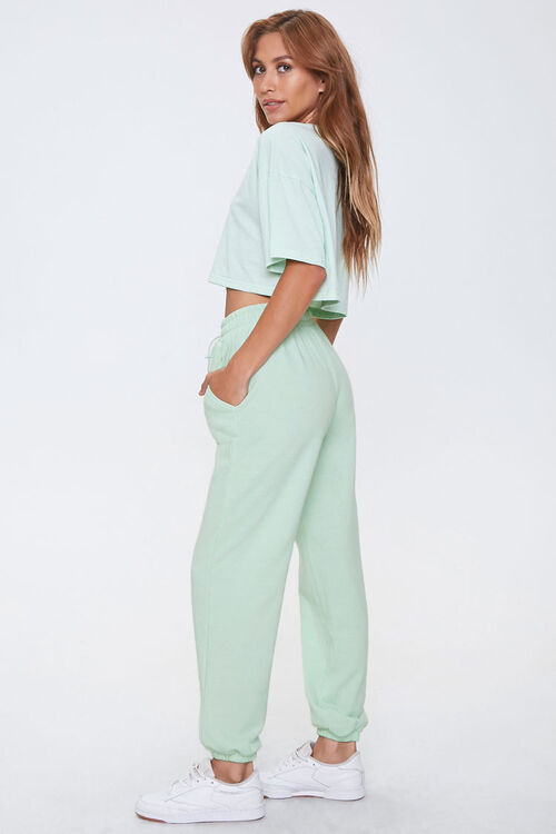 Cropped Tee & Joggers Set, image 2