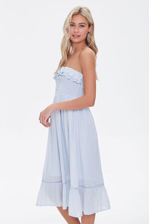 Smocked Ruffle-Trim Dress, image 2