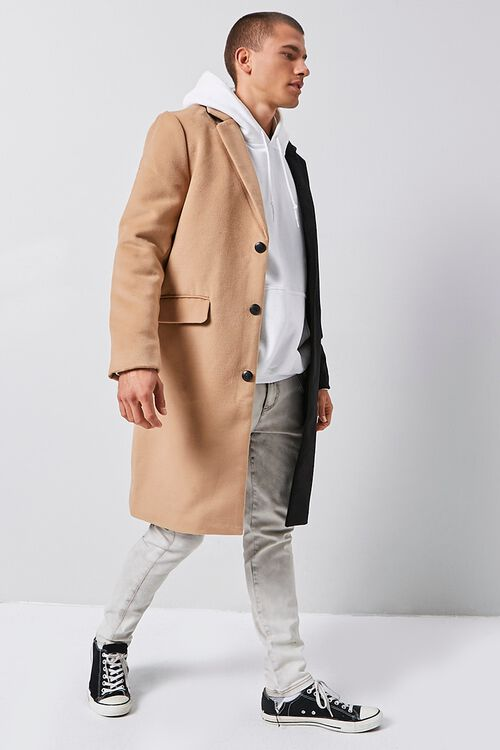 Colorblock Longline Coat, image 2