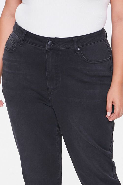 Plus Size Signature High-Rise Mom Jeans, image 4