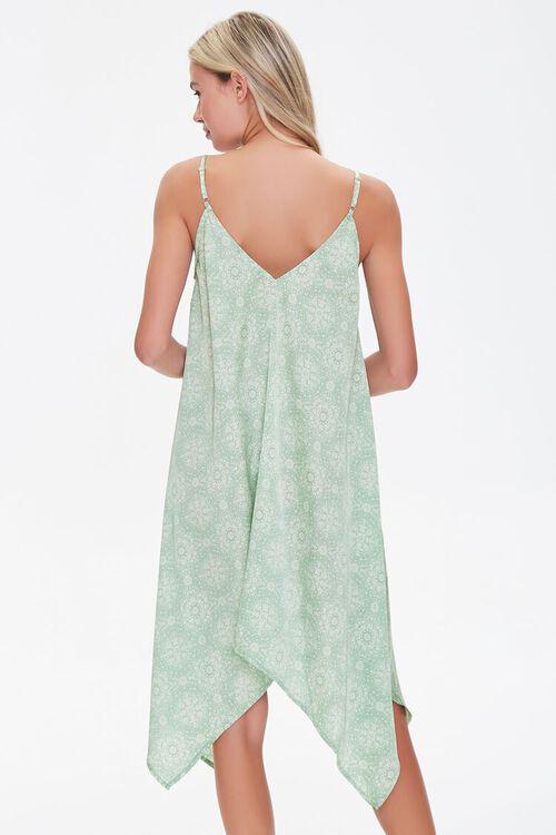 Ornate Print Handkerchief Dress, image 3