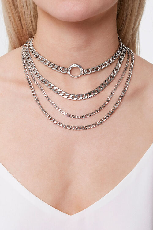 Chunky Chain Necklace Set, image 2