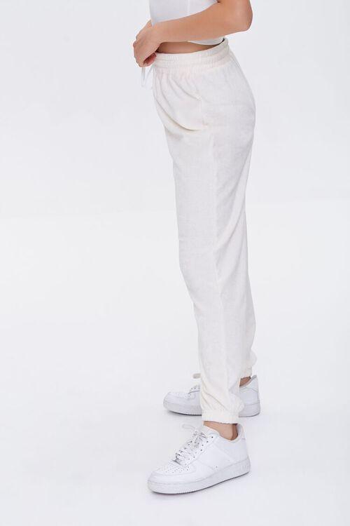 Cotton-Blend Drawstring Joggers, image 3