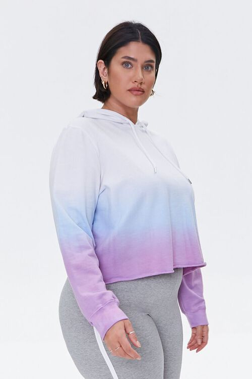 Plus Size Active Ombre Hoodie, image 2