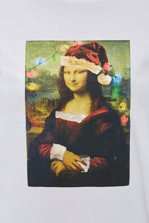 Christmas Mona Lisa Tee, image 5