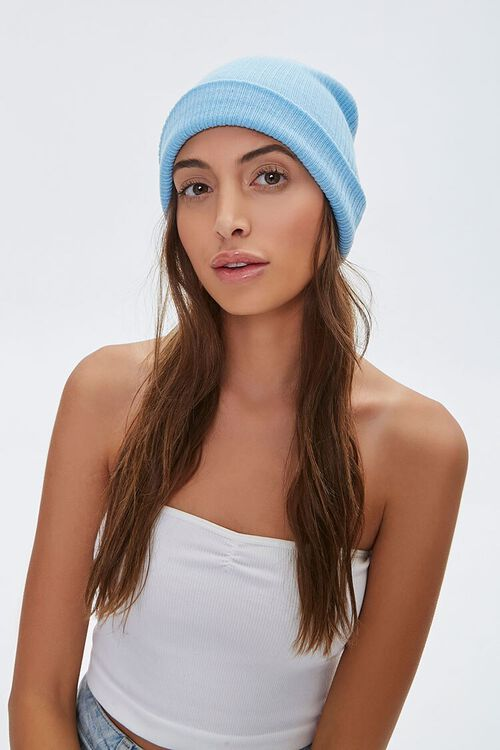 Ribbed Knit Beanie, image 2