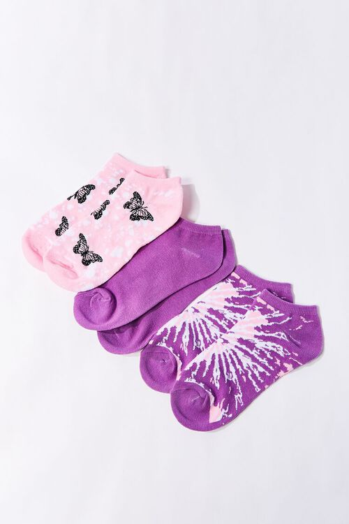Butterfly Ankle Socks - 3 Pack, image 2