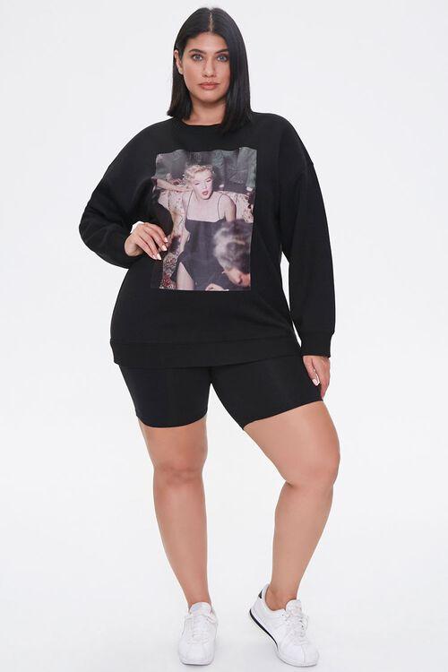 Plus Size Marilyn Monroe Sweatshirt, image 4