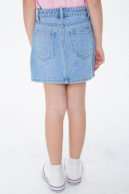 Girls Denim A-Line Skirt (Kids), image 4