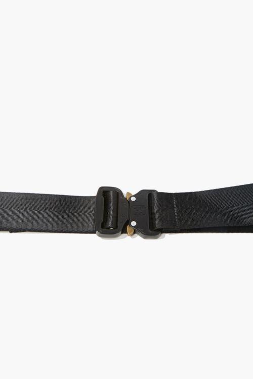 Men Grosgrain Metal-Buckle Belt, image 4